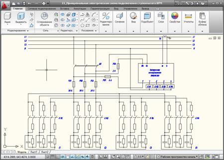 схема присоединения к электрическим сетям